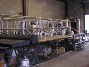 Round Pipe Tubular Steel Railings