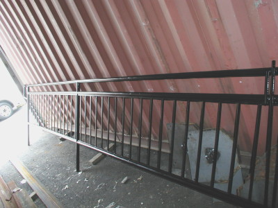 Round Pipe Tubular Steel Railings New York Ny Steel