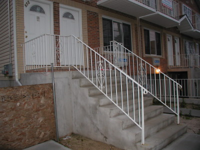 Round Pipe Tubular Steel Railings New York Ny Steel