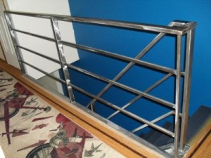 Round Pipe Tubular Steel Railings