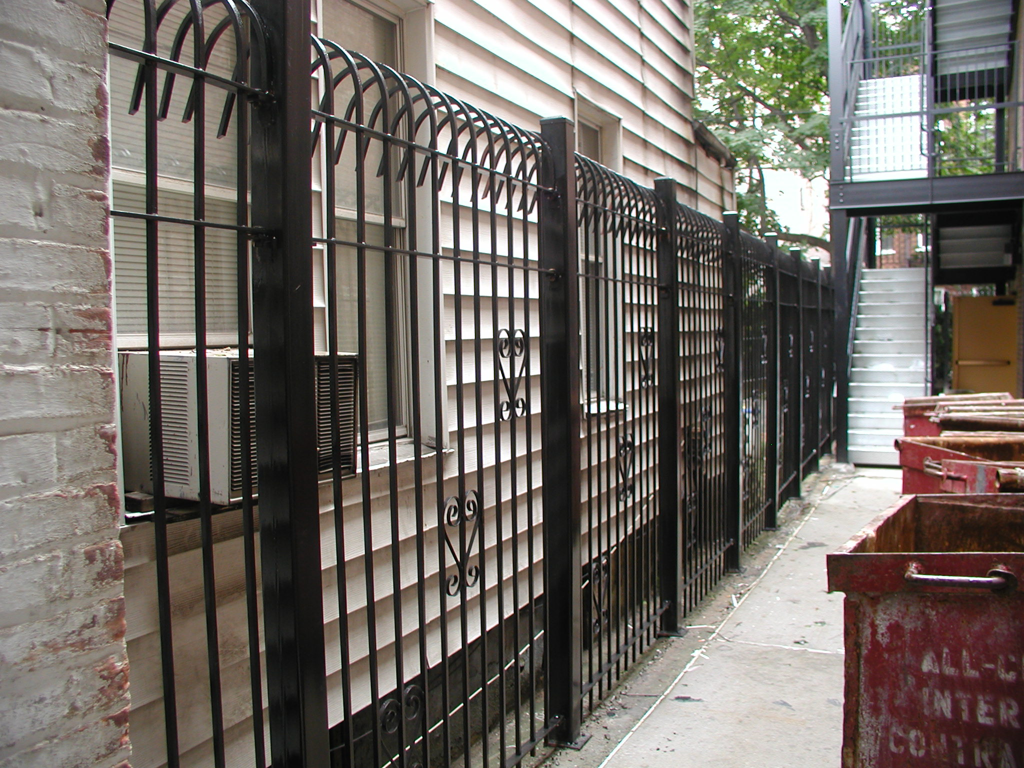 Industrial commercial steel fencing new york ny