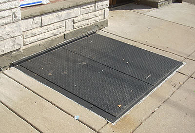 Sidewalk Cellar Hatch Doors Steel New York Ny Steel