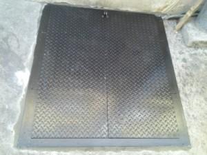 Sidewalk Cellar Hatch Doors Steel New York Ny Steel