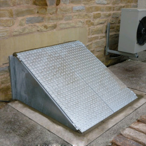 Sidewalk cellar hatch doors steel new york ny steel fabricators - Cellar door hinges ...