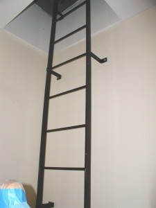 Steel Roof Access Ladders