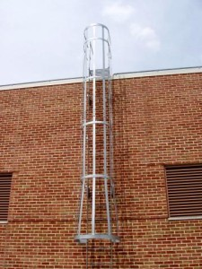 Steel Roof Ladders Amp Cage Ladders New York Ny Steel