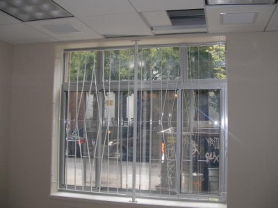 Commercial window guards steel new york ny steel for Window bars design