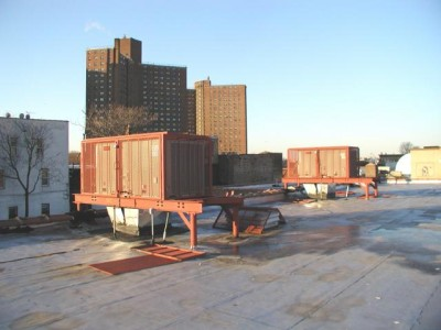 Hvac Roof Dunnage Steel New York Ny Steel Fabricators Nyc