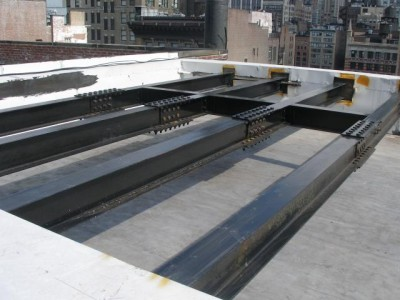 Hvac Roof Dunnage Steel New York Ny Steel Fabricators Nyc