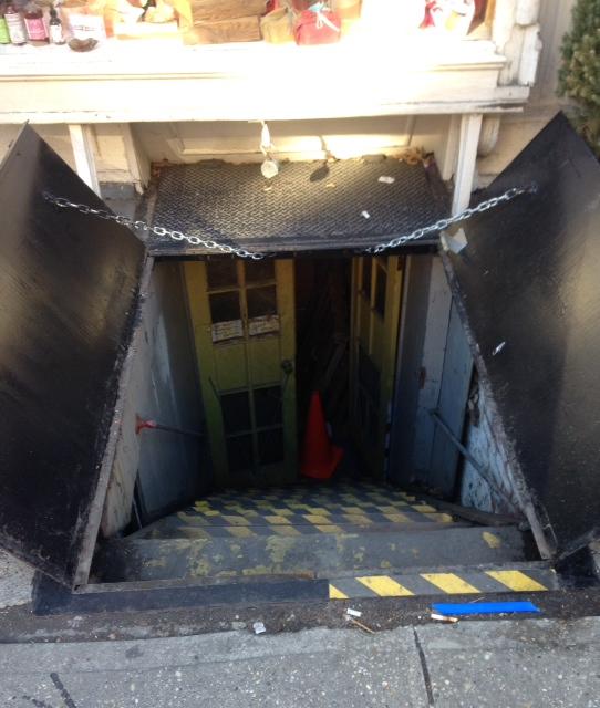 Sidewalk Cellar Hatch Doors Steel - New York, NY