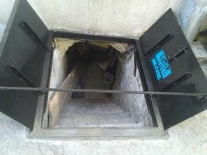Sidewalk Cellar Hatch Doors - NY
