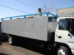 18 FOOT INDESTRUCTIBLE STEEL TRUCKBODY COMPLETE