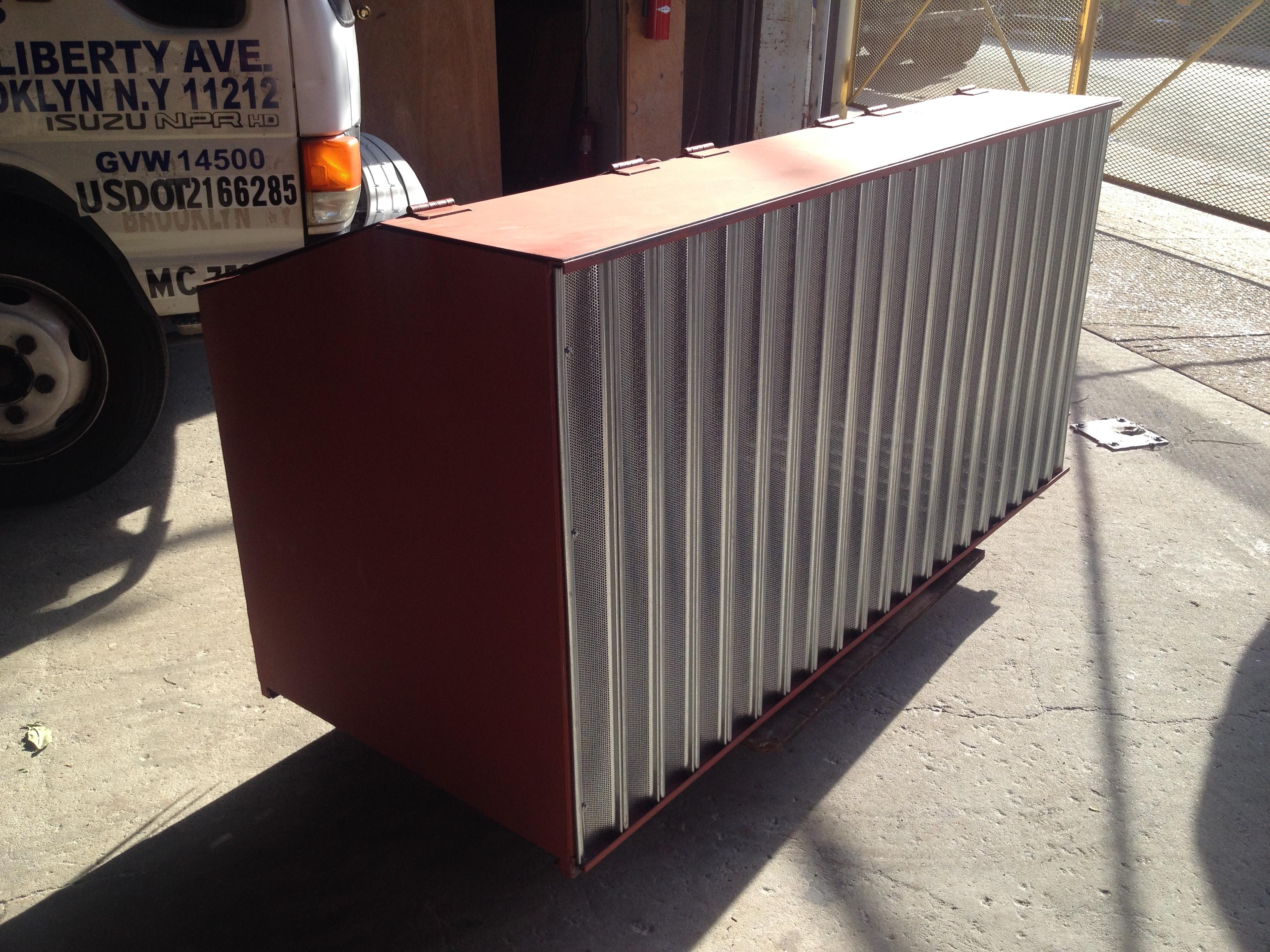 Steel Bins - New York, NY