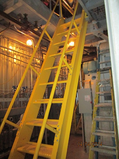 Steel Ladders - Steel Fabricators, New York, NY