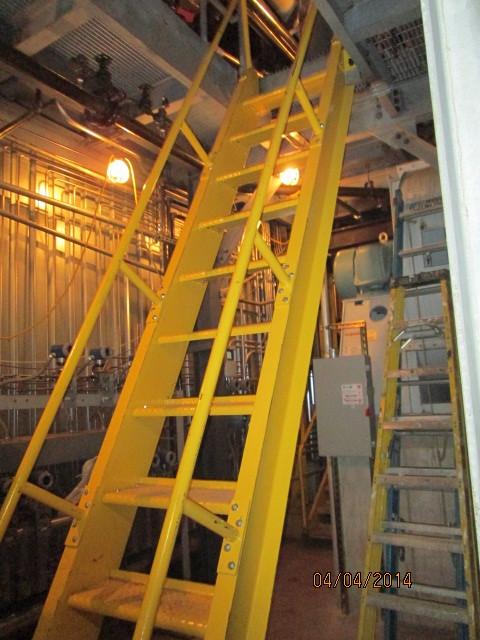 Steel Ladders - Steel Fabricators, New York, NY