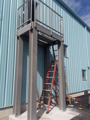 fire escape stair n ladder